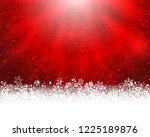 winter holiday greeting card.... | Shutterstock . vector #1225189876