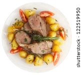 Rustic Style Rack Of Lamb With...