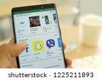 penang  malaysia   25 oct 2018  ... | Shutterstock . vector #1225211893