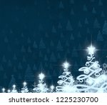 2d illustration. abstract... | Shutterstock . vector #1225230700