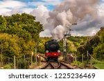 Beautiful Steam Train At...
