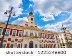 madrid  spain. puerta del sol... | Shutterstock . vector #1225246600
