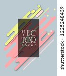 covers templates set with... | Shutterstock .eps vector #1225248439