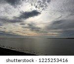 dramatic sky sunrise... | Shutterstock . vector #1225253416