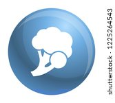 fresh broccoli icon. simple... | Shutterstock .eps vector #1225264543