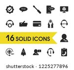 help icons set with like ...