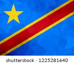 democratic republic of congo... | Shutterstock . vector #1225281640