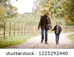 Grandfather With Grandson On...