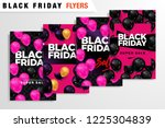 black friday sale inscription... | Shutterstock .eps vector #1225304839