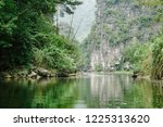 epic mountains and river scenic ... | Shutterstock . vector #1225313620