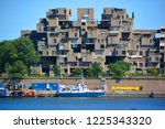 montreal quebec canada 08 16... | Shutterstock . vector #1225343320