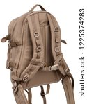 tactical backpack isolate on... | Shutterstock . vector #1225374283