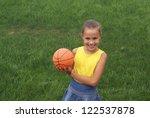 preteen school girl with... | Shutterstock . vector #122537878