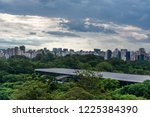 ibirapuera park view from above | Shutterstock . vector #1225384390