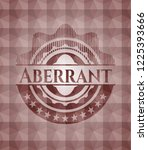 aberrant red emblem with... | Shutterstock .eps vector #1225393666