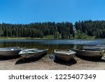 Aluminum Boats Parked On A...