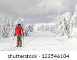 cross country skiing | Shutterstock . vector #122546104