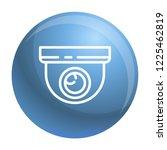 indoor secyrity camera icon.... | Shutterstock .eps vector #1225462819