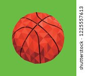 Fractal Basketball Ball In A...