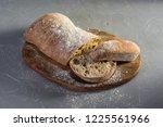 delicious italian homemade bread   Shutterstock . vector #1225561966