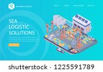 logistic template. vector...