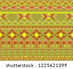 navajo american indian pattern... | Shutterstock .eps vector #1225621399
