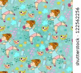 seamless pattern can be used... | Shutterstock .eps vector #122562256