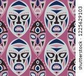 vector illustration. tribal... | Shutterstock .eps vector #1225629103