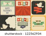 retro vector elements ... | Shutterstock .eps vector #122562934