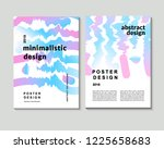 the abstract colorful... | Shutterstock .eps vector #1225658683