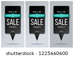 sale banner and poster. | Shutterstock .eps vector #1225660600