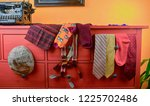 men's  garments. clothing... | Shutterstock . vector #1225702486
