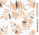 creative seamless pattern with... | Shutterstock . vector #1225712599