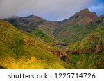 sunset in north west mountains... | Shutterstock . vector #1225714726