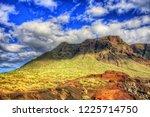 mountains near punto teno... | Shutterstock . vector #1225714750