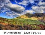 north west coast of tenerife... | Shutterstock . vector #1225714789