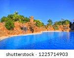 panorama  tenerife  canarian... | Shutterstock . vector #1225714903
