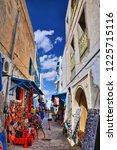 hammamet  tunisia   oct 2014 ... | Shutterstock . vector #1225715116