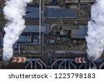 coal fossil fuel power plant... | Shutterstock . vector #1225798183