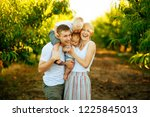 happy cheerful family having... | Shutterstock . vector #1225845013