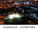 night tennis courts | Shutterstock . vector #1225847383