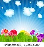vector illustration background... | Shutterstock .eps vector #122585680