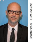 Small photo of NEW YORK, NY - NOVEMBER 09: Moby attends The Humane Society's 9th Annual To The Rescue! Gala at Cipriani 42nd Street on November 9, 2018 in New York City.