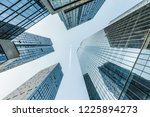 business circle office building | Shutterstock . vector #1225894273