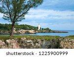 caribbean sea coastline.   Shutterstock . vector #1225900999