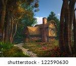 Dwarf House In A Fairytale...