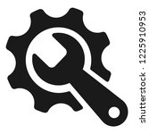 tools and  wrench icon | Shutterstock .eps vector #1225910953