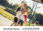 do your best for your team.... | Shutterstock . vector #1225921999