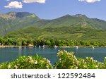 lago di garda  largest italian... | Shutterstock . vector #122592484