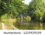 trent and mersey canal with... | Shutterstock . vector #1225929199